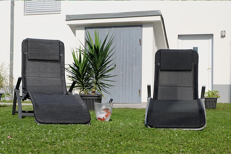 Relaxen im Garten von CAMPANELL Das Ferienhaus im Blaufränkischland.