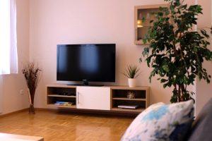 Wohnzimmer von CAMPANELL Das Ferienhaus im Blaufränkischland.