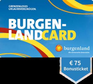 Burgenland Card Bonusticket